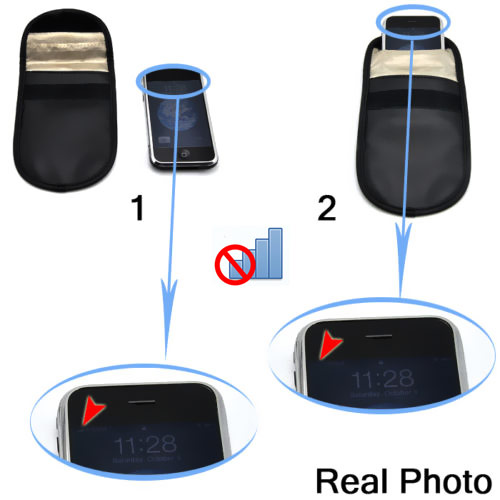 Mobile Phone Signal Blocking Bag Pouch Case