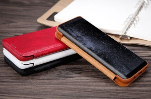 leather case flip cover for samsung galaxy s8
