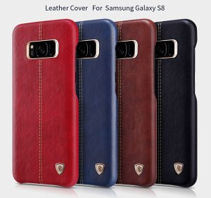 leather cover back case for samsung galaxy s8